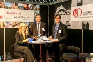 Stand of C&D Solicitors on Dutch Second Home Fair in Utrecht