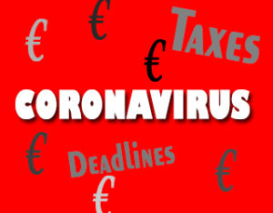 Coronavirus, taxes deadlines, spain